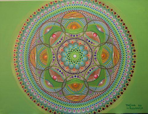 Mandala za januar 21: SAMOOPAZOVANJE – INTROSPECTION